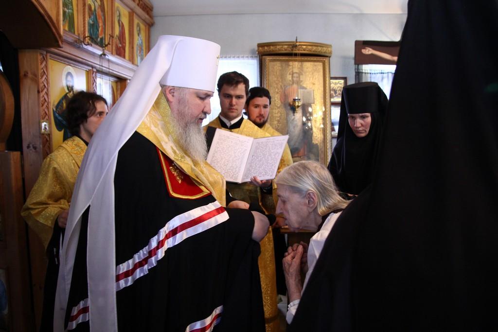 Поступление в монастырь